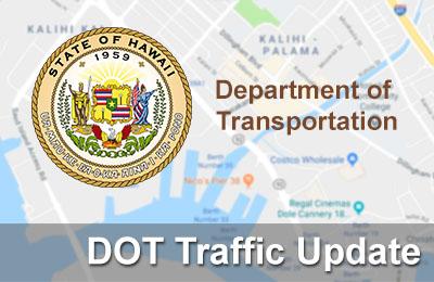 D.O.T Traffic Update