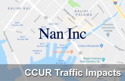 CCUR Traffic Impacts • 11-05-18