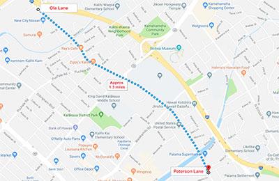 Kalihi Traffic Impacts • Late Feb – May 2019